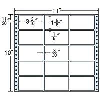 東洋印刷 タックフォームラベル 11インチ ×10インチ 15面付(1ケース500折) M11E
