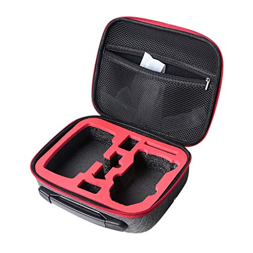 Bascar Drone Bolso de mano, mochila, bolsa de transporte, impermeable, compacta, bolsa de viaje, bolsa de almacenamiento para DJI Mavic Mini RC Drone Quadcopter accesorios