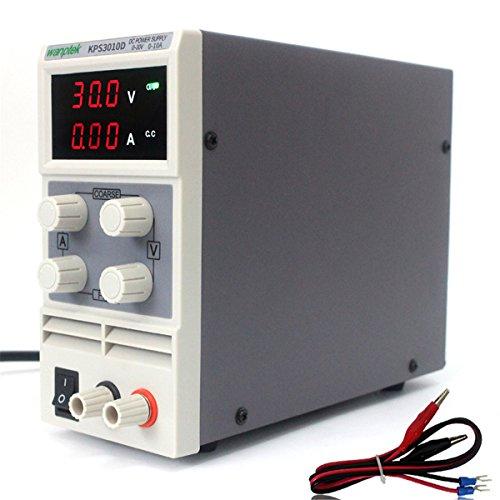 Tutoy Kps3010D 110V/220V DC Alimentation De Précision LED Régulateur De Tension 0-12V 10A - UE Plug