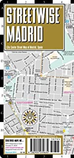 By Streetwise Maps Inc. - Streetwise Madrid Map - Laminated City Center Street Map of Madrid, Spain (Map) (12.2.2010)