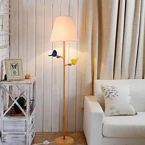 Allamp Norte de Europa Lámpara de pie, nórdicos Moderna de Estados Unidos Minimalistas Creativas pájaro de Hierro Arte de pie luminarias for Sala de Estar Dormitorio Estudio C Incluye Bombilla