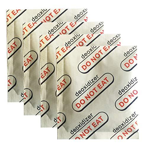 ECYC 100 Packungen Sauerstoffabsorber Langzeitlagerung von Lebensmitteln, Sauerstoffabsorber in Lebensmittelqualität 100CC halten trockene Lebensmittel frisch