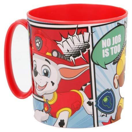 Theonoi wieder verwendbarer Kunststoffbecher Tasse 350 ml Paw Becher aus Kunststoff BPA frei Mikrowelle geeignet Geschenk Jungen (Paw)