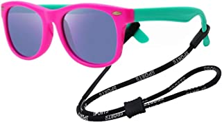 Kids Flexible Polarized Sunglasses for Boys Girls Age...
