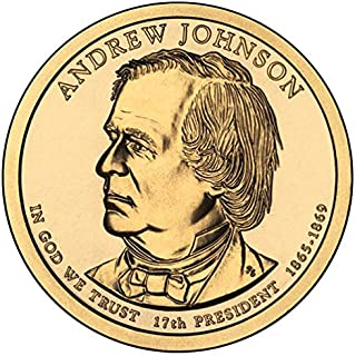 andrew johnson dollar coin 1865