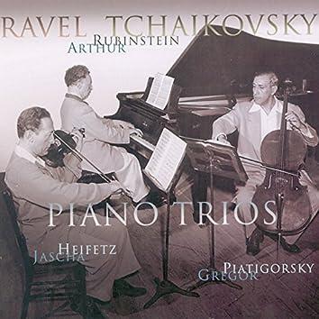 Rubinstein Collection, Vol. 25: Ravel: Trio in A Minor; Tchaikovsky: Trio in A Minor, Op. 50