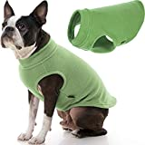 Gooby Stretch Fleece Dog Vest - Grass Green, X-Large - Pullover Fleece Dog Sweater - Warm Dog Jacket Dog Clothes Sweater Vest - Dog Sweaters for Small Dogs to Large Dogs for Indoor and Outdoor Use