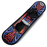 Flexible Flyer Avenger Kids Beginner Snowboard. Youth Plastic Snowboarding Toy...