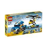 Lego 5765 - Creator 5765 Tieflader mit Helikopter - LEGO