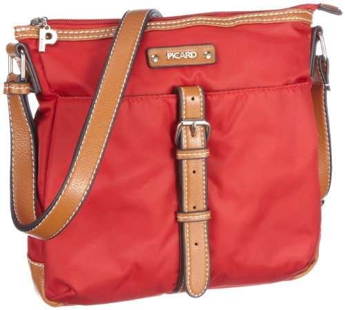 Picard Damen SONJA Umhängetaschen, Rot (Rot), 23x24x4 cm