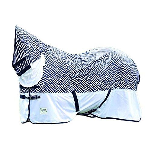 Shires Tempest Zebra Pony/paard vliegen combo tapijt - Zebra Print
