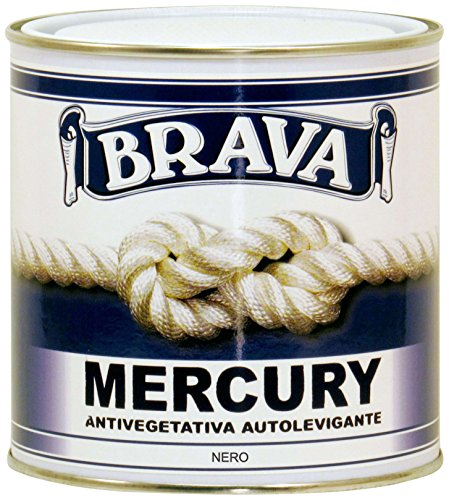 Brava Mercury Antivegetativa, Nero, 750 ml