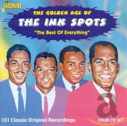 Price comparison product image The Golden Age Of The Ink Spots: The Best Of Everything - 101 Classic Original Recordings