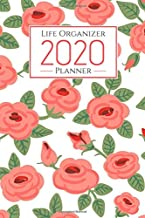 2020 life organizer planner: weekly monthly calendar planner - weekly goals to do list gratitude coloring Mandalas for Str...