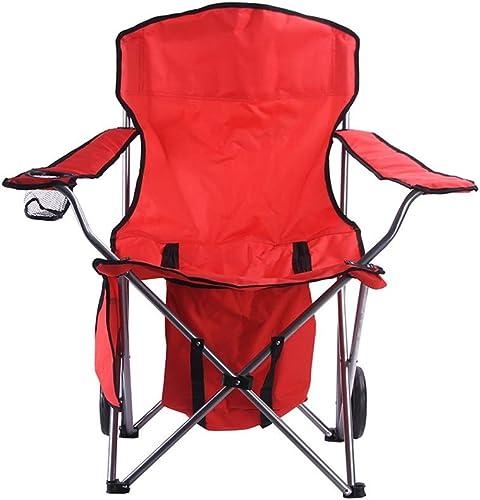 Chaises de Camping Accoudoir Pliant Chaise de Plage Loisirs de Plein air Poids léger, Camp, Pique-Nique, randonnée