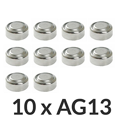 [Envio GRATIS] 10 x AG13 LR44 G13-A D303 L1154 L1154F alcalina pila...