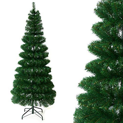 ANSIO Pull Up/Pop Up Albero di Natale Artificiale 6 Ft Risparmio di Spazio Albero Installazione Rapida Puntali in PVC...