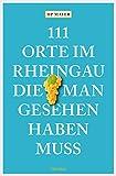 111 Orte im Rheingau, die man gesehen haben muss (111 Orte ...)