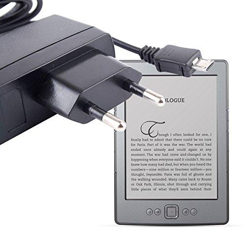 DURAGADGET Cargador Europeo/Adaptador De Red para Todos Modelos De Kindle - Kindle/Kindle Touch/Kindle Paperwhite