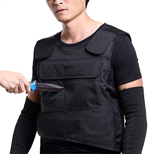 Stichfeste Unterziehweste/Körperpanzerung, schützt Brust und Rücken