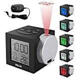 Alarm Clocks Time Projection, New Clock Time on Ceiling Wall for Bedroom Decor