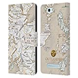 Official Outlander Map Seals And Icons Leather Book Wallet