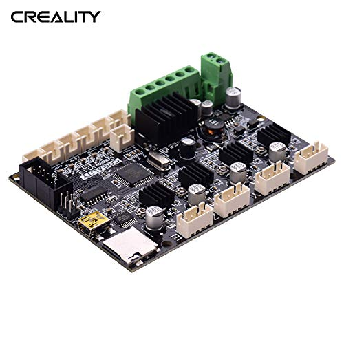 Aibecy creality 3D Base Control Board Mother Board V1.1.5 Placa madre silenciosa para CR-10 DIY Self Assembly 3D Kit de impresora de escritorio Suministros de actualización