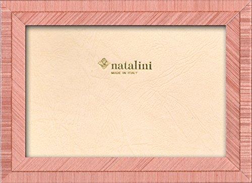 Natalini BIANTE Rosa 10X15 Marco de Fotos con Soporte para Mesa, Tulipwood, 10 X 15 X 1,5