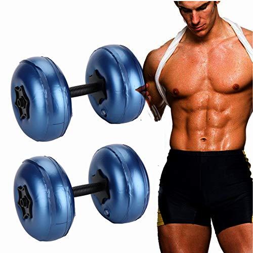 GAODA Wasser hantelset, verstellbare Hantel Wassergefüllte Hanteln Set Tragbar Dumbell Gewichte Hantel, Reise-Hanteln für Bodybuilding, Gewichtheben, Training, professionelles Workout.