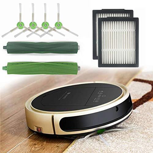 4 * hepa-Filter +2 * Seite Pinsel + 2 * Pinsel Rolle für iRobot Roomba i7 E5 E6 ICH Serie Roboter-staubsauger Ersatz Ersatzteile