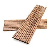 medium dark wooden chopsticks