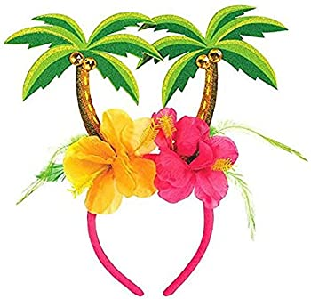 amscan 393926 Palm Tree with Hibiscus Floral Head Bopper 10.25  x 10