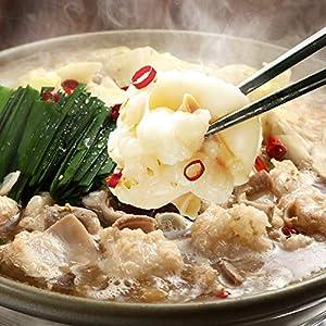 博多若杉 厚切り小腸 もつ鍋セット 国産 牛もつ鍋 お取り寄せ もつ鍋 醤油味 (2~3人前)
