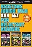 Redstone Junior High Set for Reluctant Readers: High-interest, Graphic Novels for Minecrafters: High-Interest, Illustrated Graphic Novels for Minecrafters