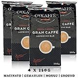 O'ccaffè Espresso Bar | starker gemahlener Kaffee aus italienischem Familienbetrieb | perfekt...