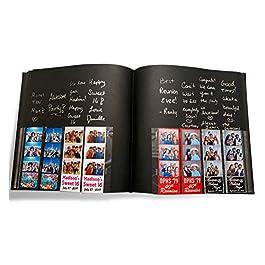 Photo Booth Album for 2″x6″ Photo Strip Pics – 60 Pages Holds 240 Photobooth Photos – Slide-in Photo Booth Photo Album – 2 inch x 6 inch – Wedding Scrapbook – Bookmark Album