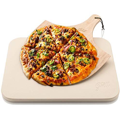 PORTA LA VERA PIZZA ITALIANA A CASA TUA: Oh, la pizza! Una sola parola, tante immagini nella tua testa. Goditi una pizza come quella del ristorante nel comfort del tuo salotto con il nostro lussuoso set da forno per pizza. Un set Hans Grill comprende...