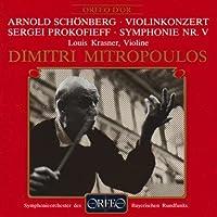 Violinkonzert; Symphonie No. 5 by SCHOENBERG / PROKOFIEV (1994-04-20)