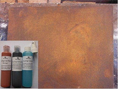 La Rouille fer Peinture, réactive Rouille Peinture pour le bricolage, travaux manuels et décoration