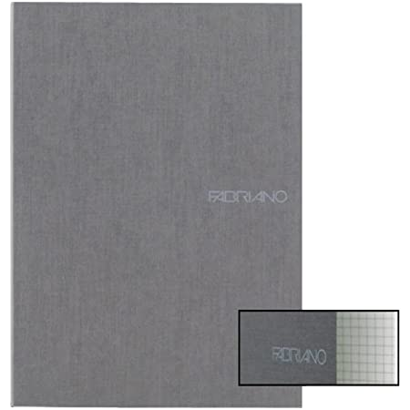 Ecoqua Grid Notebook 8.25X11.7 Stone