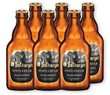 6 Flaschen Bitburger Winterbock 0,33l - Bockbier inc. MEHRWEG Pfand