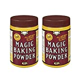 Magic Baking Powder 450g/15.9oz, 2-Pack {Imported from Canada}
