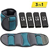 Empower Ankle & Wrist Weights for Women, Soft, Adjustable Weights, Adjustable Strap, Running,...