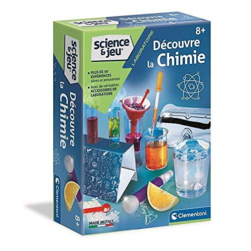 Clementoni–scopre la Chimica–Gioco scientifico, 52283