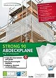 Rainexo Abdeckplane Transparent 2x3m; Stärke: 90g/m² - min. 3 Jahre UV Beständig