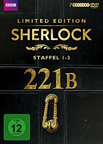 Sherlock - Staffel 1-3 (Limited Edition) (7 DVDs)