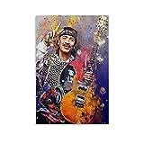 liutao Carlos Santana Poster, dekoratives Gemälde,
