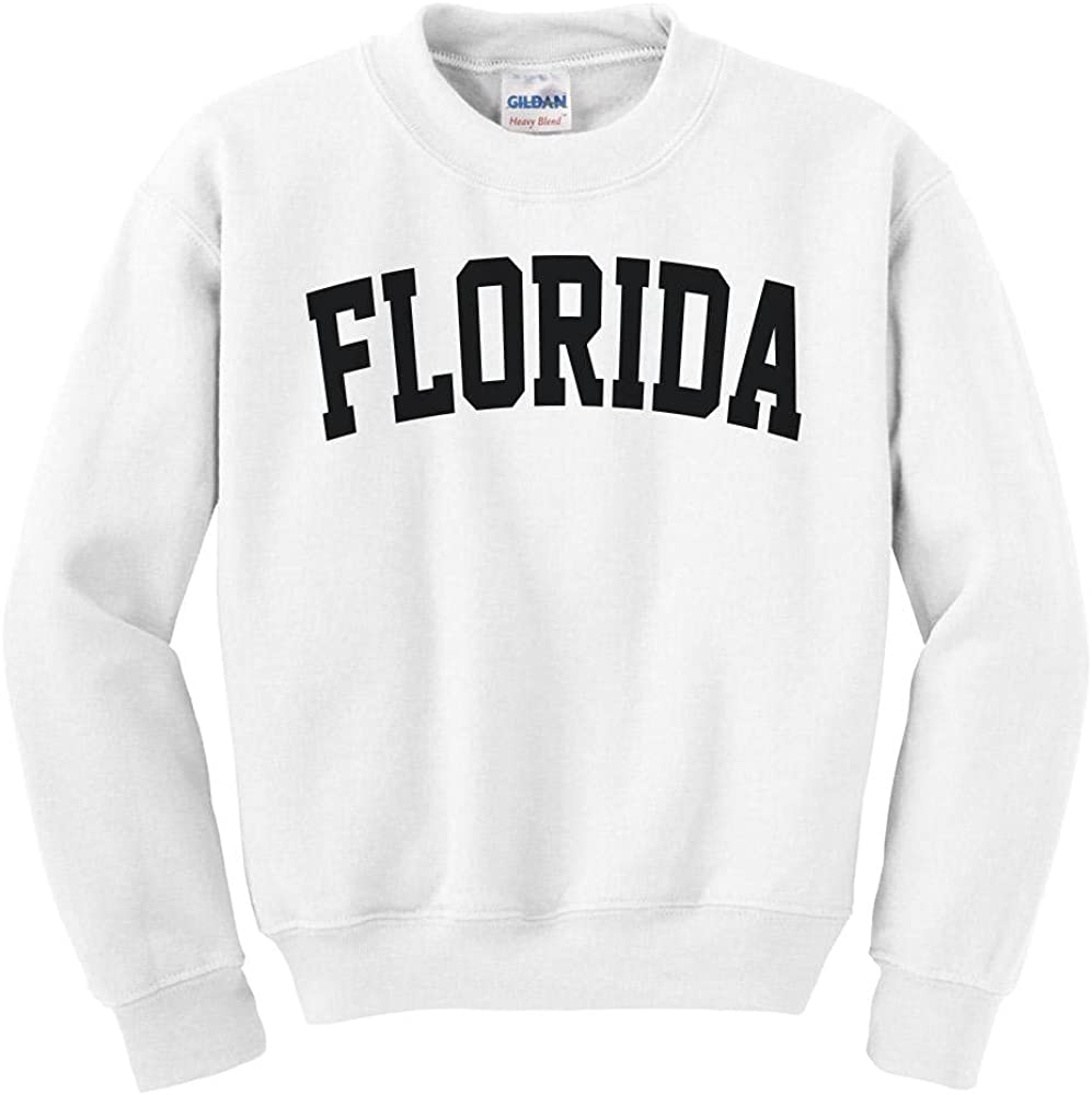 Boston Mall Florida College Style Sweatshirt Youth Kids Quality inspection