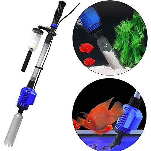 CG 3 In1 Vakuum-Bodenreiniger, Elektrischer Automatischer Aquarium-Schlammsauger Wasser Changer, Sand Algenfilter Filter Changer