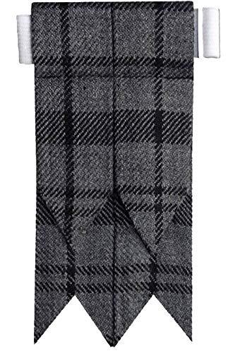 Brown in pelle in rilievo celtico Kilt cintura dimensioni regolabili per kilt